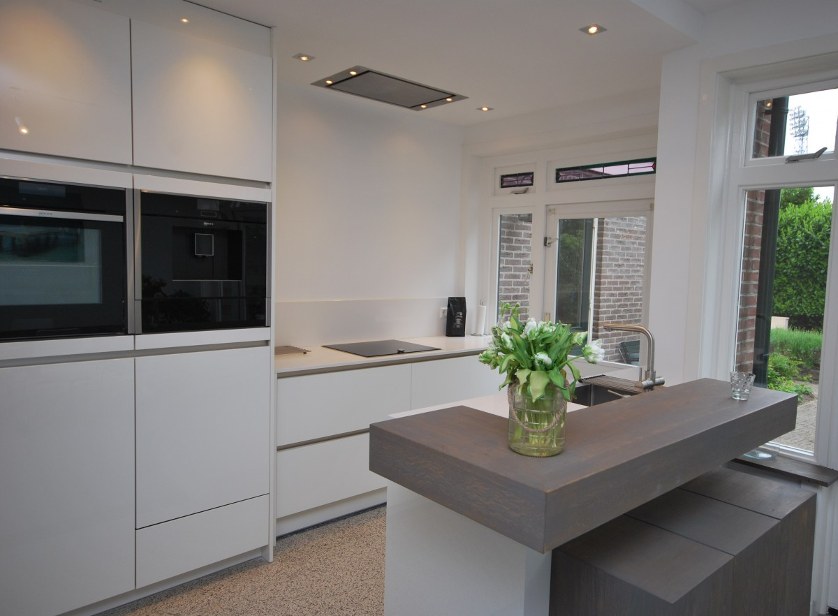 Moderne keuken deventer keukenhof - Foto keuken ...