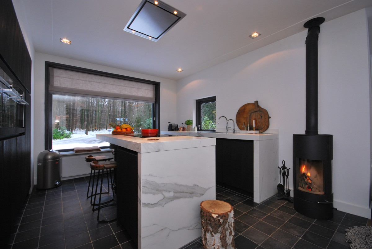 Keuken Badkamer Rijssen : Woonkeuken rijssen marmer keukenhof