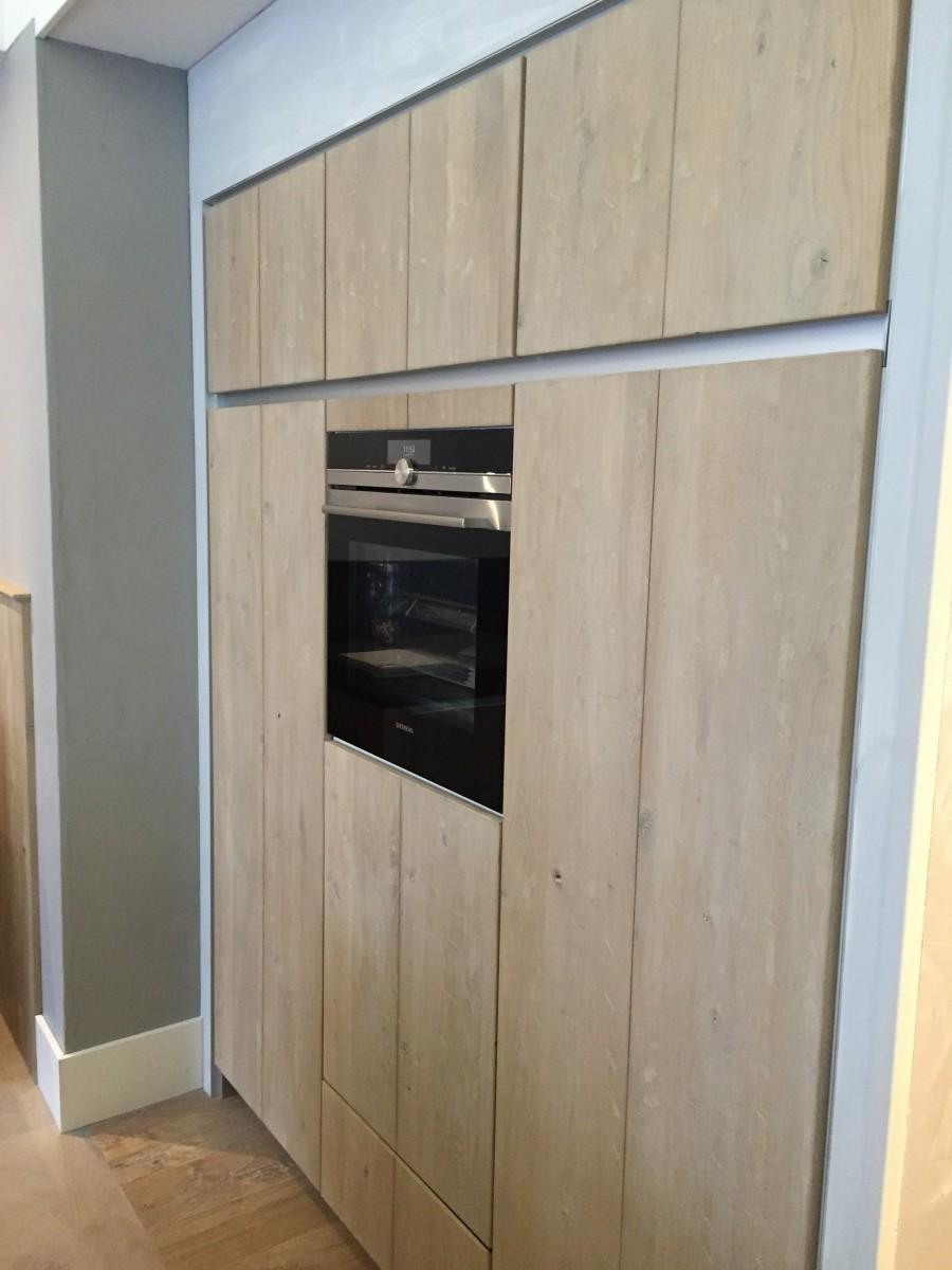 Moderne Greeploze Houten Keuken Delden Keukenhof